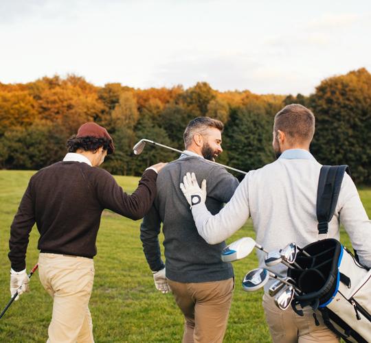 golfer to golfer